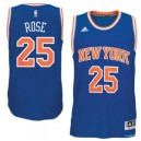 Derrick Rose New York Knicks adidas climacool Straße Swingman Trikot - Royal