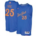 Derrick Rose New York Knicks adidas 2016 Weihnachtstag Day Swingman Trikot - Royal