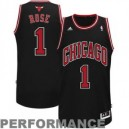 Derrick Rose Chicago Bulls adidas Jugend Swingman Alternative Trikot - Schwarz