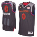 Russell Westbrook Western Conference adidas 2017 NBA All-Star Game Swingman Trikot - Charcoal