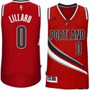 Damian Lillard Portland Trail Blazers adidas Player Swingman Alternative Trikot - Rot