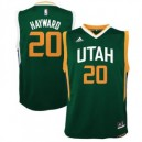 Gordon Hayward Utah Jazz adidas Jugend Alternative Replikat Trikot - Green