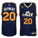 Gordon Hayward Utah Jazz adidas Player Swingman Straße Trikot - Marine