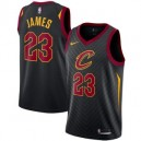 Nike LeBron James Cleveland Cavaliers Black Swinger Trikots-Statement Edition