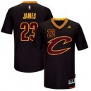 adidas Youth Cleveland Cavaliers Lebron James 23 Pride schwarz Replica Trikots