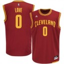 Kevin Love Cleveland Cavaliers adidas Replikat Basketball Trikot - Wein